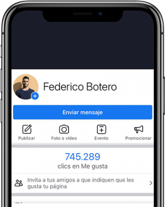 consultor en marketing digital pagina facebook federico botero